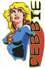 New York Atomic Poster Supergirl Pop Music Superhero Debbie Harry Ladies T Shirt