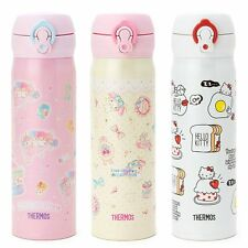 JAPAN THERMOS SANRIO HELLO KITTY MELODY STAINLESS STEEL VACUUM FLASK WARM BOTTLE