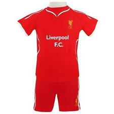 Liverpool FC Shorts & T-Shirt Set Official Merchandise Sizes 3-6 to 18-23 months