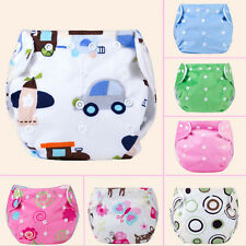 Modern Cloth Reusable Washable Baby Nappy Diaper & Insert Adjustable Underwear