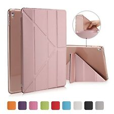 Origami Folding Leather Stand Flip Case Cover for Apple iPad 2 3 4 Air Mini Pro