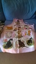 CAT DESIGN APRON - BRAND NEW
