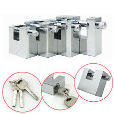 Top Security Shipping Container Garage Trailer Padlock Heavy Duty with 3 Keys *