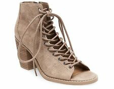 Mossimo Women's Phobe Lace Up Booties Taupe 9 / 10 NWB