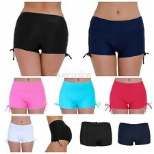 Womens Swim Briefs Mini Boardshorts Swimwear Beach Shorts Bikini Bottom Pants