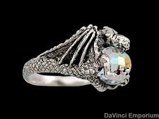 Sterling Silver Smaug Arkenstone Ring Lord of the Rings and The Hobbit