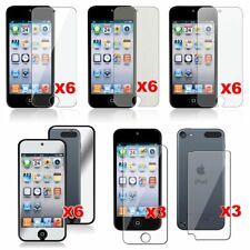 6x Newest Clear LCD Screen Protector Cover Guard For Apple iPod Touch 5 5th Gen