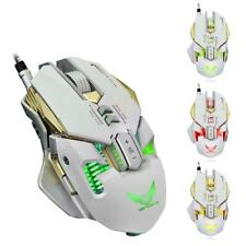 LED Wired Gaming Mouse Ergonomic Optical Mice for Mac PC Computer Games