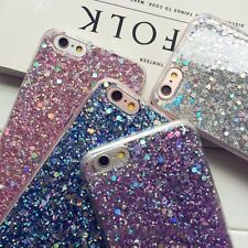Luxury Bling Glitter Soft Shockproof Silicone Case For Apple iPhone X 6s 7 8Plus