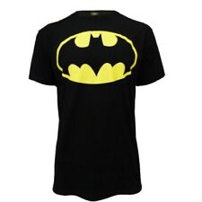 Mens DC Comics Official New Classic Batman Symbol Retro Black Crew T Shirt Top