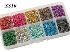 SS10/SS16/SS20 Hot Fix Rhinestud in Storage Box Value Pack