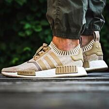 ADIDAS NMD R1 PK PRIMEKNIT BOOST KHAKI SHOES Size 4 5 6 7 8 9 10 11 12 13 OG NEW