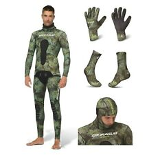Sporasub 5mm Stealth Suit Spearfishing SET Wetsuit Gloves Booties Camo ALL SIZES