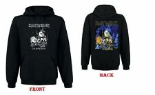 New IRON MAIDEN LIVE AFTER DEATH Sweatshirt Hoodie with pockets