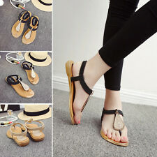 Summer Lady Sandals Leaf Soft Leather Flat Heels Roman Style Shoes