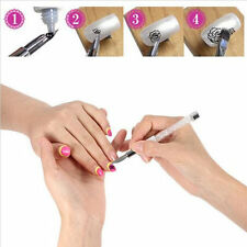 Nail Art Brush Pen Design Paint Drawing Dotting Rhinestone Crystal Line Tools QE