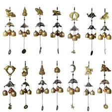 3-Bell Copper Bell Mobile Wind Chime Home Garden Outdoor Yard Party Decoration
