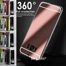 Ultra Thin Slim Crystal Clear Case Mirror Soft Cover For Samsung Galaxy S8 Plus