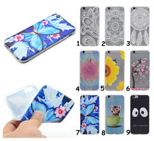 Soft TPU Rubber Back Cover Skin Printed Silicone Case For Samsung Galaxy Phones