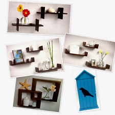 Wall Shelves Floating Many Shapes Colors Sizes Easy Mounting