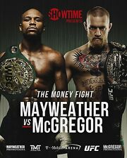 """Floyd Mayweather VS Conor Mcgregor Poster Fight Card Print Size 13x20"""" 24x36"""""""