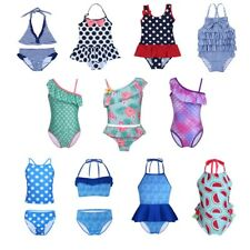 Girls Kids Baby Swimwear Bikini Set Swimsuit Swimmers Bathers Bathing Swim Suit