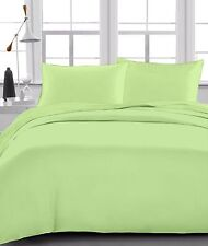Sage Solid 100% Egyptian Cotton 1000 TC 35 Cm Drop 6 PCs Sheet Set
