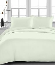 Ivory Solid 100% Egyptian Cotton 1000 TC 35 Cm Drop 6 PCs Sheet Set
