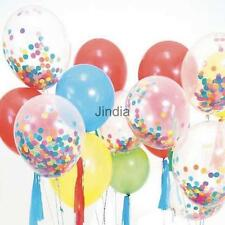 """Lots of Colorful 12""""/18"""" Helium Confetti Latex/5'' Foil Balloon Party Home Decor"""