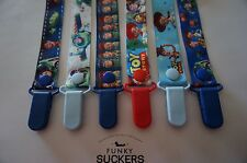 TOY STORY / BUZZ Dummy Clip / Dummy Clips / Pacifier Clips / Chain