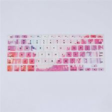 """Colorful Rainforest English Silicone Keyboard Cover for Macbook Pro 13"""" 15"""" 17"""""""
