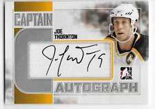 11/12 ITG CAPTAIN C SILVER AUTOGRAPH Hockey (#AAA-AZC) U-Pick From List