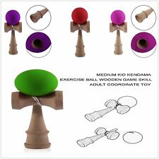 Elastic Kendama Sword Ball Wooden Toy Skillful Juggling Ball Game Toy Gift HT