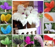 10/50pcs Natural Ostrich Feathers 10 Colors Fit Stage Home Wedding Decoration