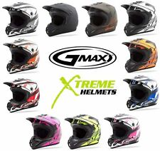 GMAX GM46.2X Helmet Dirt Bike Off Road MX Motocross DOT Adult