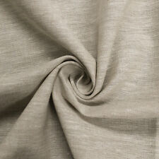Beige 57'' Cotton Linen Flax Fabric by the Yard or Sample Swatch