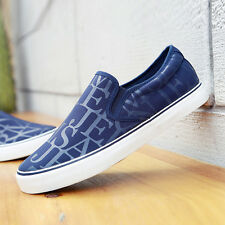 New Fashion Students Flat Loafers Slip On Canvas Sneakers Boat Casual Shoes