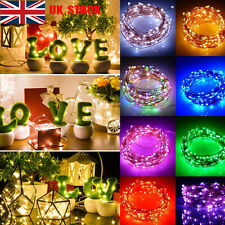 2/5/10M Battery Waterproof Copper Wire Christmas Party Decor Fairy String Lights
