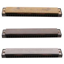 Harmonica Mouth Organ 24 Holes Double Holes with 48 Reeds Key of C F2402