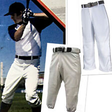 Youth Sports Pants Baseball Softball White Gray Boys Girls Various Sizes