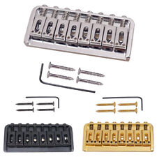 8 Strings Guitar Bridge Assembly 93mm Length String for Electric Guitar Accs