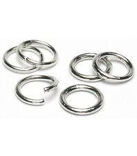 925 Sterling Silver 4.5mm Round Open Jump Rings Wholesale 500, 1000 & 2000