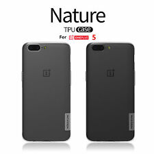 Nillkin Nature Cases For OnePlus 5 A5000 Antiskid Slim TPU Clear Soft Back Cover