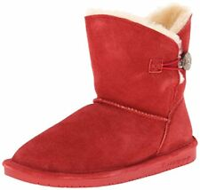 BEARPAW Women's Rosie Snow Fur Lined Sheepskin Cushioned Boot Color/Size $79.99