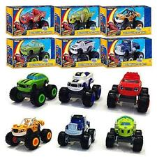Blaze and the Monster Machines Vehicles Plastic Racer Cars Trucks Kid Toys Gifts