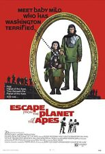 Escape From The Planet Of The Apes Movie Poster Print - 1971  Sci-Fi - 1 Sh. Art