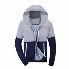 Women Polyester Material Patchwork Full Sleeve Hooded Jacket Jacket Plus Size