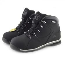 MENS SAFETY WORK BOOTS GROUNDWORK GR66 STEEL TOE CAP HIKING LACE UP ANTI SLIP