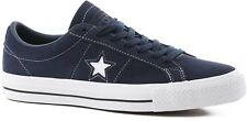 CONVERSE ONE STAR PRO OX LOW OBSIDIAN WHITE MENS SUEDE SKATEBOARD SHOES SNEAKERS