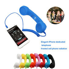 Novelty Retro Classic Telephone 3.5MM Classic Handset Phone Receiver For iPhone